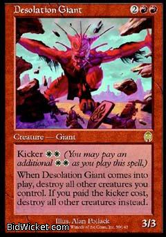 Desolation Giant, Apocalypse, Magic the Gathering