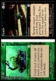 Life/Death (Death), Apocalypse, Magic the Gathering