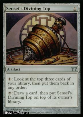 Sensei's Divining Top, Champions of Kamigawa, Magic the Gathering