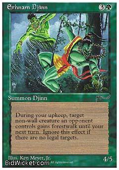 Erhnam Djinn, Chronicles, Magic the Gathering