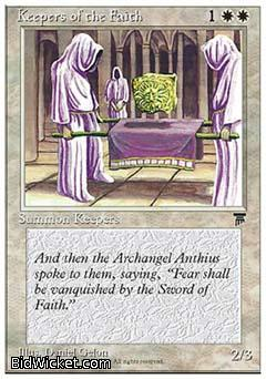 Keepers of the Faith, Chronicles, Magic the Gathering