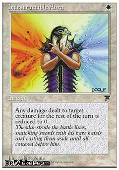 Indestructible Aura, Chronicles, Magic the Gathering