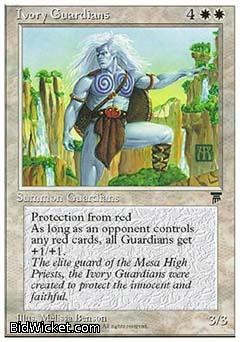 Ivory Guardians, Chronicles, Magic the Gathering