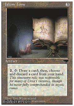 Jalum Tome, Chronicles, Magic the Gathering