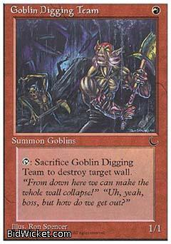 Goblin Digging Team, Chronicles, Magic the Gathering