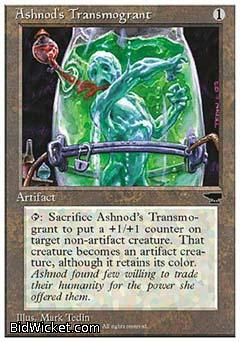 Ashnod's Transmogrant, Chronicles, Magic the Gathering