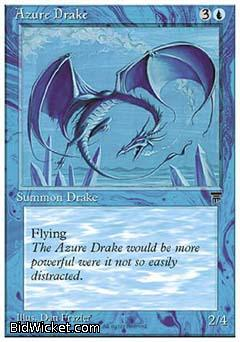 Azure Drake, Chronicles, Magic the Gathering