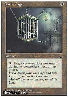 Barl's Cage, Chronicles, Magic the Gathering