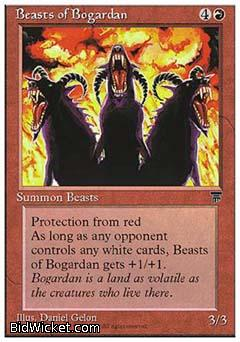 Beasts of Bogardan, Chronicles, Magic the Gathering