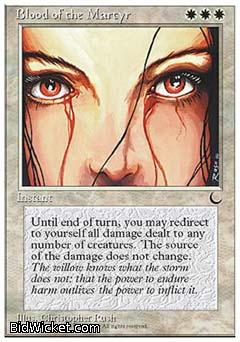 Blood of the Martyr, Chronicles, Magic the Gathering