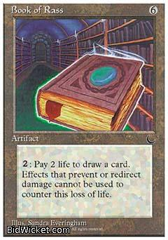 Book of Rass, Chronicles, Magic the Gathering