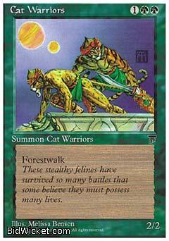 Cat Warriors, Chronicles, Magic the Gathering