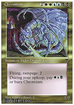 Chromium, Chronicles, Magic the Gathering