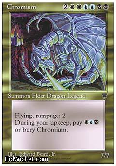 Chromium, Chronicles, Magic the Gathering