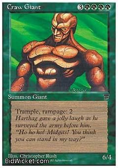Craw Giant, Chronicles, Magic the Gathering