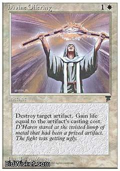 Divine Offering, Chronicles, Magic the Gathering