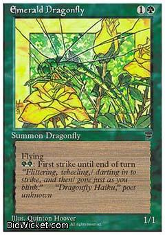 Emerald Dragonfly, Chronicles, Magic the Gathering