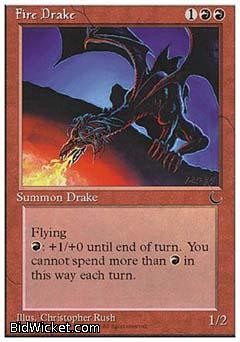 Fire Drake, Chronicles, Magic the Gathering