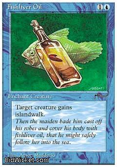 Fishliver Oil, Chronicles, Magic the Gathering