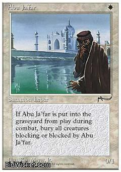Abu Ja'far, Chronicles, Magic the Gathering