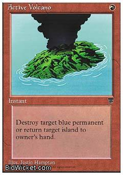 Active Volcano, Chronicles, Magic the Gathering