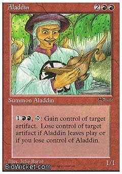 Aladdin, Chronicles, Magic the Gathering
