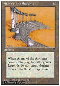 Arena of the Ancients, Chronicles, Magic the Gathering