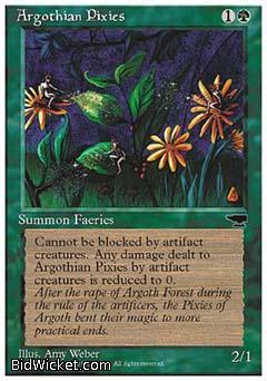 Argothian Pixies, Chronicles, Magic the Gathering