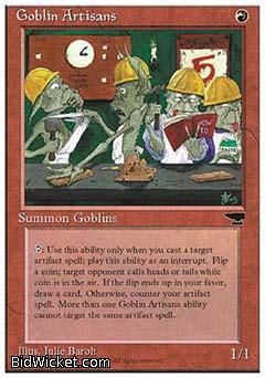 Goblin Artisans, Chronicles, Magic the Gathering