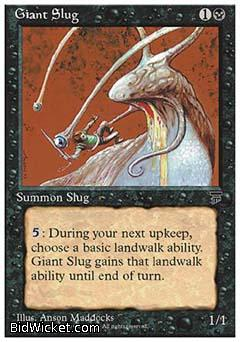 Giant Slug, Chronicles, Magic the Gathering