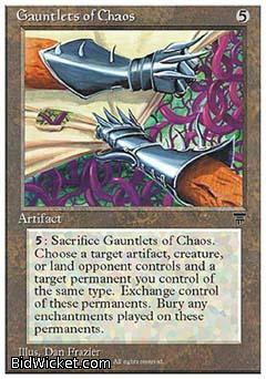 Gauntlets of Chaos, Chronicles, Magic the Gathering
