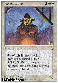 Witch Hunter, Chronicles, Magic the Gathering