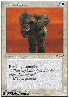 War Elephant, Chronicles, Magic the Gathering