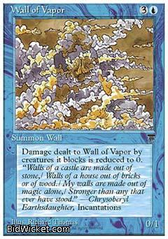 Wall of Vapor, Chronicles, Magic the Gathering