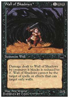 Wall of Shadows, Chronicles, Magic the Gathering