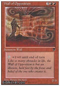 Wall of Opposition, Chronicles, Magic the Gathering