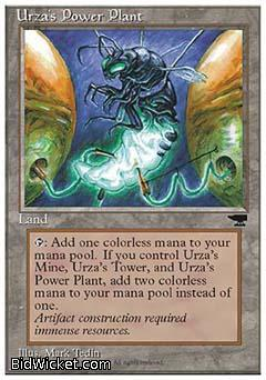 Urza's Power Plant (2), Chronicles, Magic the Gathering