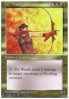 Tor Wauki, Chronicles, Magic the Gathering