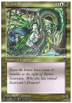 Sivitri Scarzam, Chronicles, Magic the Gathering