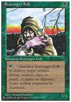 Scavenger Folk, Chronicles, Magic the Gathering