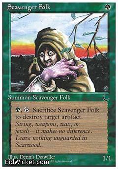 Scavenger Folk, Chronicles, Magic the Gathering