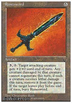 Runesword, Chronicles, Magic the Gathering