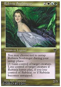 Rubinia Soulsinger, Chronicles, Magic the Gathering