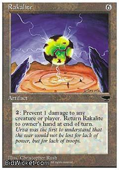 Rakalite, Chronicles, Magic the Gathering
