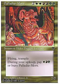 Palladia-Mors, Chronicles, Magic the Gathering