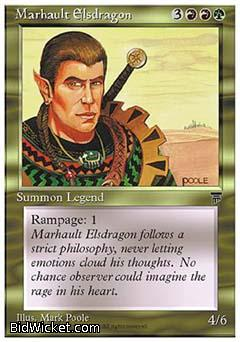 Marhault Elsdragon, Chronicles, Magic the Gathering