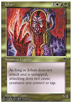 Johan, Chronicles, Magic the Gathering