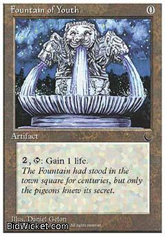 Fountain of Youth, Chronicles, Magic the Gathering