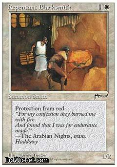 Repentant Blacksmith, Chronicles, Magic the Gathering