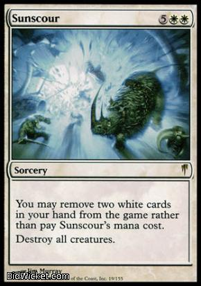 Sunscour, Coldsnap, Magic the Gathering